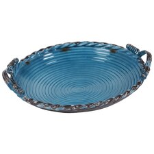 Round Metal Serving Tray