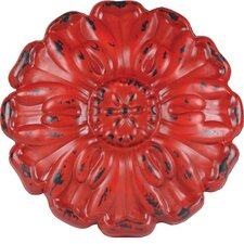 Rosette Metal Wall Decor