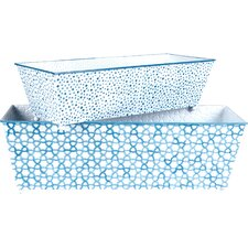 <strong>Wilco</strong> Rectangular Boxes Planter (Set of 2)