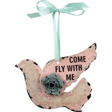 'Come Fly...' Bird Wall Décor