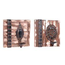 <strong>Wilco</strong> Wood Sconces (Set of 2)