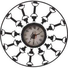 "Oversized 27.75""  Wall Clock"