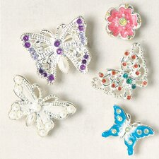 Magnet Butterfly Bag (Set of 5)