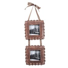 Resin Hanging 2 Picture Frame