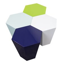 Hexagonal Accent Stool