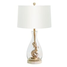 "29"" H Nantucket Table Lamp with Empire Shade"