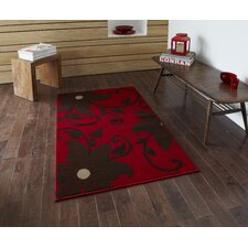 Modena Red/Brown Budget Rug