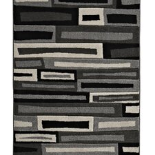 Matrix Black/Grey Rug