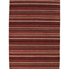 Oxford Red Knotted Rug