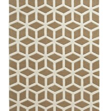 Hong Kong Beige/Cream Tufted Rug
