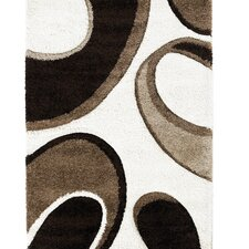 Fashion Carving Beige/Brown Rug