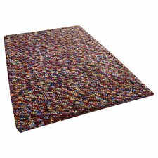 Pebbles Multi Knotted Rug