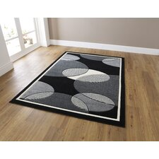 Art Twist Grey Hand Carved Rug