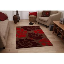 <strong>Think Rugs</strong> Hong Kong Brown Tufted Rug