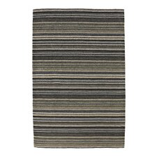 Oxford Black/Green Knotted Rug