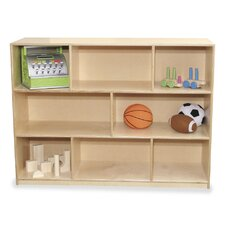 Early Childhood 8 Compartment Mobile Storage Unit