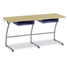 "Zuma Wood 29"" 2-Student Desk"