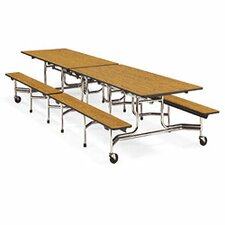 "Mobile 29"" Height Cafeteria Table"