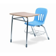"Metaphor Series 31"" Plastic Combo Chair Desk"