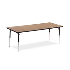 "<strong>Virco</strong> 4000 Series Activity Table with 30"" x 72"" Top"