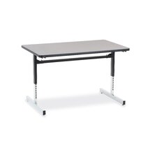 "8700 Series Computer Table with 30"" x 48"" Top"