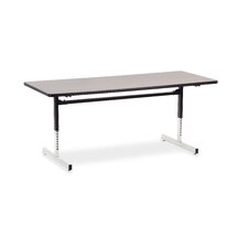 "<strong>Virco</strong> 8700 Series Computer Table with 30"" x 72"" Top"
