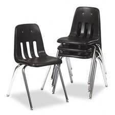 <strong>Virco</strong> 9000 Series Classroom Chair, 4/Carton