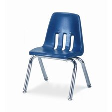 "9000 Series 12"" Polyethylene Classroom Glides Chair"
