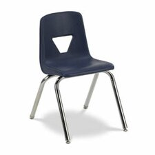 "<strong>Virco</strong> 2000 Series 16.25"" Polypropylene Classroom Stacking Chair"
