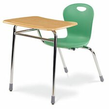 "Zuma Plastic 32.28"" Student Chair Desk Combo"