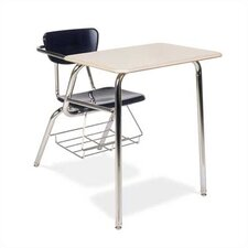 "<strong>Virco</strong> 3000 29"" Series Plastic Chair Desk"