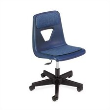 "2000 Series 20.25"" Polyurethane Classroom Padded Mobile Chair"
