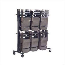 <strong>Virco</strong> Two Tier Folding Chair Truck/Storage Cart