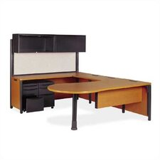 <strong>Virco</strong> Plateau U-Shape Desk Office Suite Kit 4