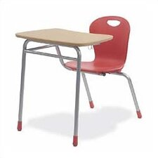 "Zuma 32.5"" Plastic Combo Chair Desk"