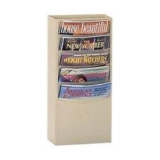 5 Pocket Library Rack