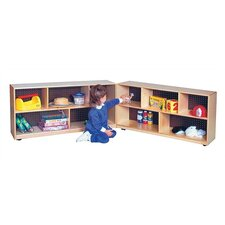 Folding Storage Cabinet 10 Compartment Cubby