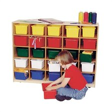 Early Childhood Tote Tray Cabinet