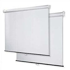 "Matte White 60"" H x 60"" W Projection Screen"