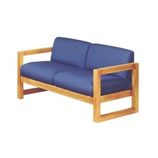 <strong>Virco</strong> Love Seat with Sled Base