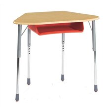 Zuma Plastic Trapezoid Desk