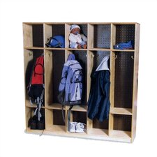 10-Section Double-Sided Locker