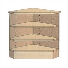 "3-Shelf Corner Unit (39"" x 33"")"