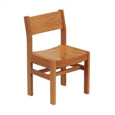 "<strong>Virco</strong> 17.5"" Wood Classroom Library Chair"