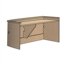 "Patron Executive Desk Unit (39"" x 72"")"