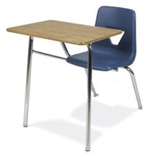"<strong>Virco</strong> 2000 Series 31"" Plastic Combo Chair Desk"