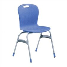 "Sage Series 19"" Plastic Classroom Glides Chair"