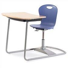 Zuma Series Ergo Combo Plastic Student Desk