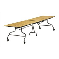 Rectangular Mobile Duofold Table