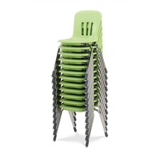 "Metaphor Series 14.5"" Polypropylene Classroom Stack Chair"
